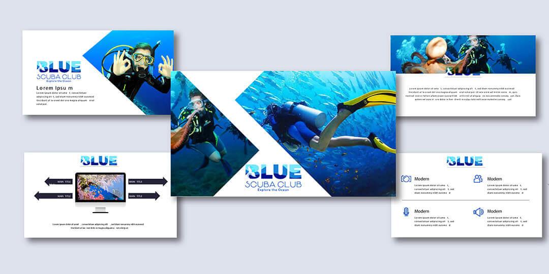 Blue Scuba